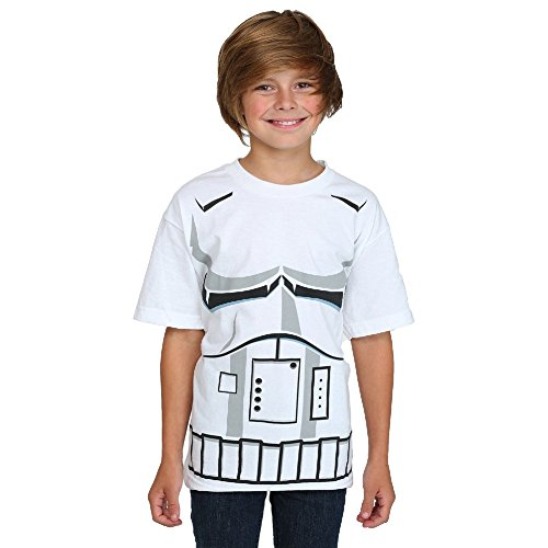 Stormtrooper Costume White Youths T shirt