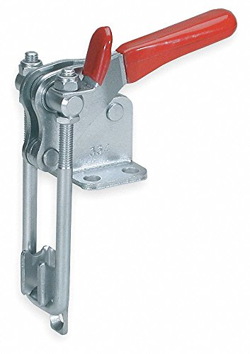 De-Sta-Co Pull-Action Latch Clamp, Flange base, M8 thd. Size, w/2,000 lbs. cap., Stain. Steel (1 ()