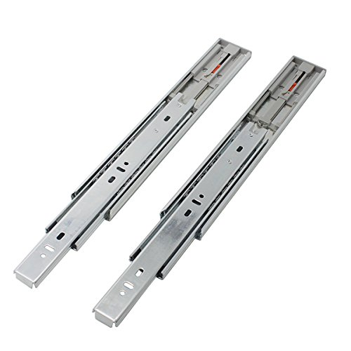 5 Pair x Probrico 12'' Push to Open Side Mount 100 LB Capacity Full Extension Ball Bearing 3 Fold Drawer Slides by Probrico (Image #3)
