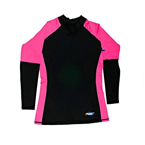 SURFIT Quickdry Adult swimtops - Gorra de ciclismo para hombre negro / rosa