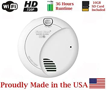 Amazon Com Secureguard 36 Hrs Battery Powered Smoke Detector