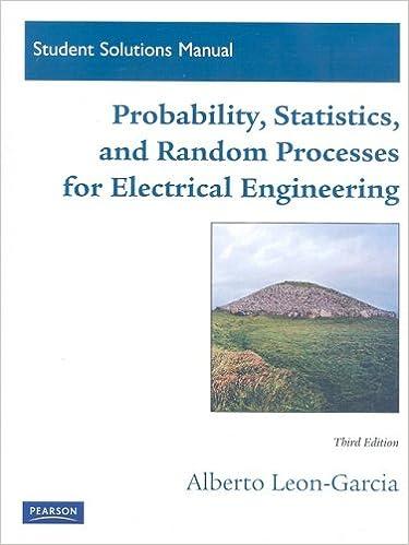 Amazon student solutions manual for probability statistics amazon student solutions manual for probability statistics and random processes for electrical engineering 9780136081180 alberto leon garcia fandeluxe Gallery