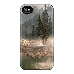 Premium Skyrim Landscape Covers Skin For Iphone 6plus
