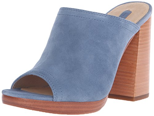 Sandal Karissa Frye Mule Women's 6 Blue Platform White US Dress M xTTqBXnw