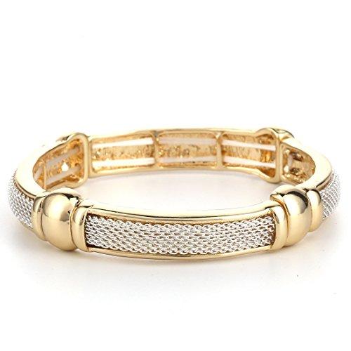 Metal Stretch Bracelet - 8