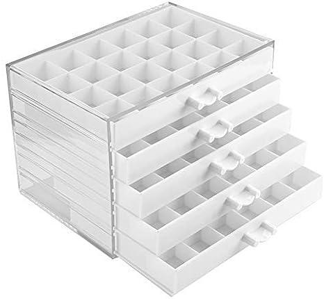 Caja de almacenamiento de 5 cajones de piezas de plástico, caja de ...