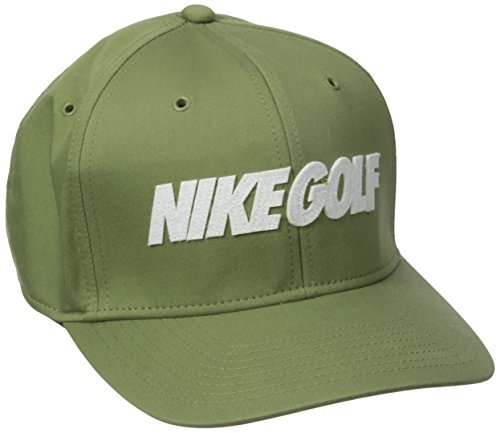 NIKE Classic 99 Washed Cap, Palm Green/White, One Size