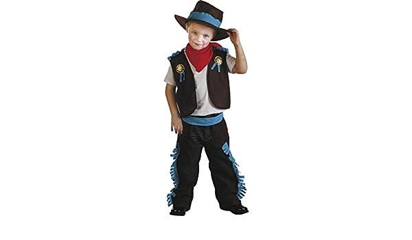 Disfraz Vaquero del Oeste Bebé Talla M  Amazon.es  Juguetes y juegos ec6c5f81b7a