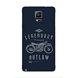 Cover It Up - Legendary Outlaw Galaxy note Edge Hard Case