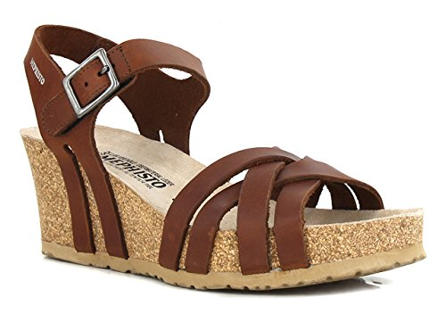 pieds Sandales Femme LANNY Nu MEPHISTO Chesnut qSFBtn