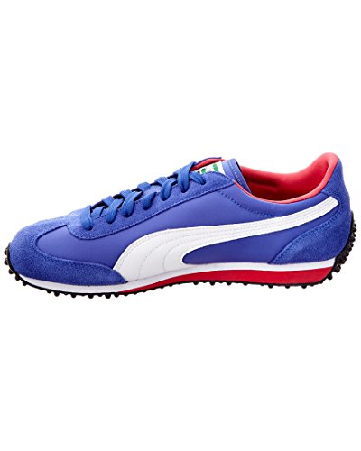 Puma - - Männer Whirlwind Classic Shoes Dazzling Blue/White/Rose Red