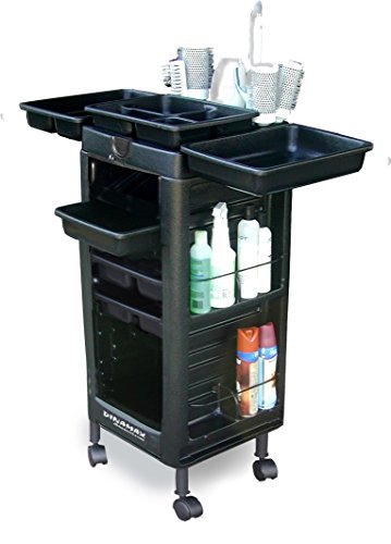 "D1-XT Salon Cart Roll-about Trolley Maxi 37"" Tall NON loc..."