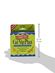 Cat-A\'bout Single-Cat CatNip Plus Tub 250 milligrams by MiracleCorp/Gimborn