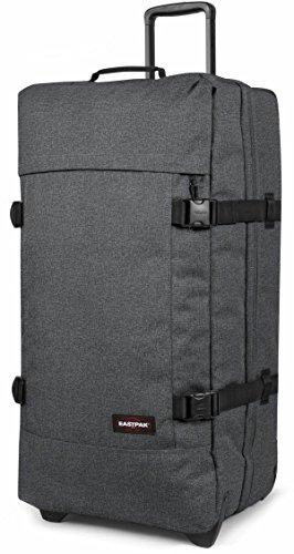 Eastpak Trolley Tasche L TRANVERZ 3,6 kg Anthrazit Schwarz 79x40x33cm Polyester Stoff Reisetasche Koffer Bowatex