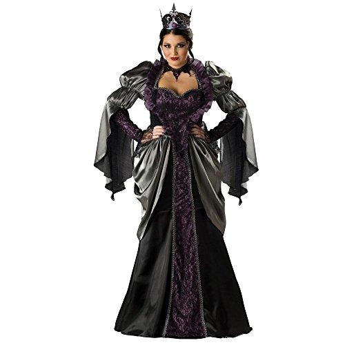 Incharacter Costumes Evil Queen (Wicked Queen Elite Women's Plus Costume)