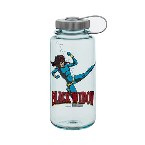 NEW! Nalgene Wide Mouth BPA Free 32oz Black Widow Water