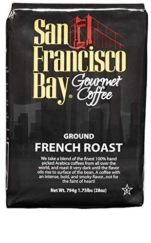 San Francisco Bay Coffee, 28 Ounce French Roast, Ground Coffee (Best Coffee Beans In San Francisco)