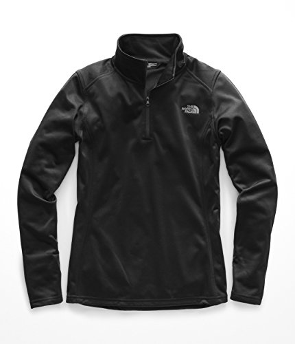 The North Face Women's Tech Glacier 1/4 Zip TNF Black Medium 3/4 Sleeve Zip Jacket