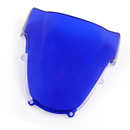 Windshield WindScreen Double Bubble For Suzuki GSXR600/750 K1 2001-2003 GSXR1000 2001-2002 (Gsxr1000 Blue Windscreen)