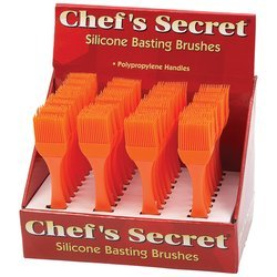 Sil Basting Brush - 36pc Dsp - Style KTBAST36 by Gift Warehouse (Image #1)