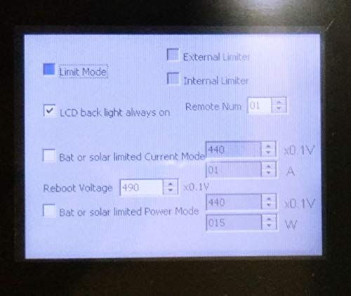 XIAOYANGKEJI 1000W Battery Backup MPPT Solar Grid Tie Inverter with Limiter Sensor DC22-60V AC PV Connected (DC22-60V, with WiFi) by XIAOYANGKEJI (Image #2)