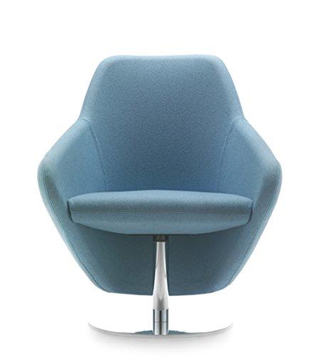 Segis USA Taxido Swivel Chair, Mirror by Segis USA