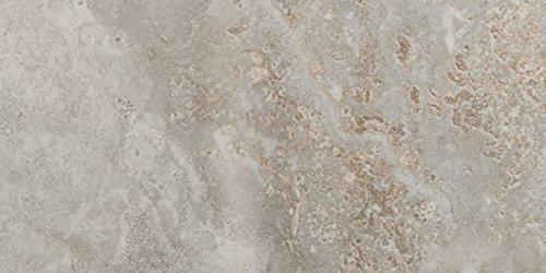 """Emser Tile F72LUCEMA1224 """"Lucerne"""" Porcelain Tile, 12"""" x 24"""", Matterhorn"""