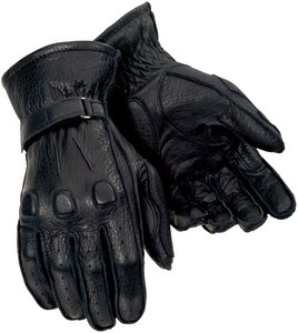 Tourmaster DEERSKIN SUMMER GLOVE BLACK ()