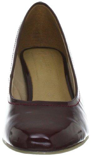 s.Oliver Selection 5-5-22411-39 - Zapatos clásicos de charol para mujer Rojo