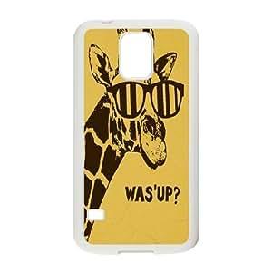 Giraffe Customized Cover Case for SamSung Galaxy S5 I9600,custom phone case ygtg560020