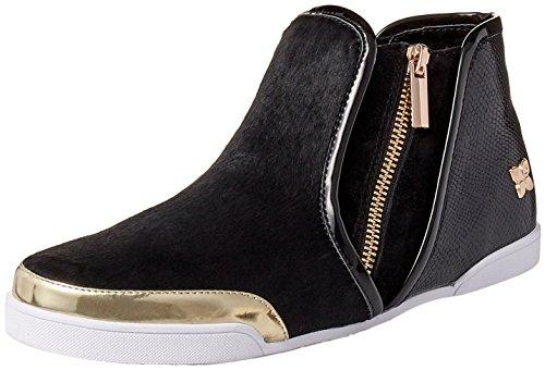 Butterfly Twists Women's Alexis Fashion Sneaker, Black, 41 EU/10-41 M US