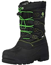 DREAM PAIRS Boys Girls Knee High Waterproof Winter Snow Boots