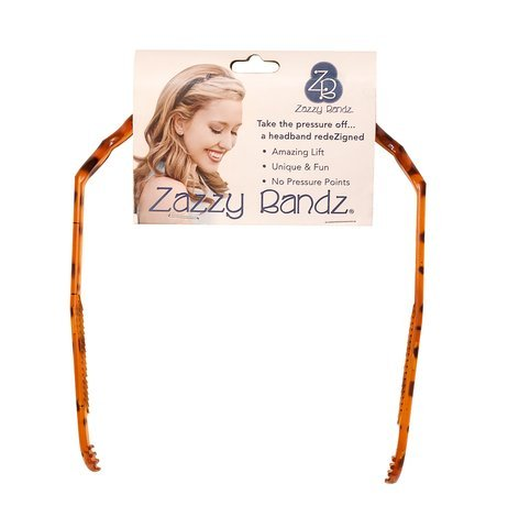 Zazzy Bandz No Headache Headband-No Slip-Pain Free Sports and Fitness Hairband-Designed by an MD for Her Tennis and Yoga-Great for Girls Women and Men