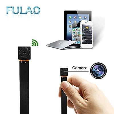 FULAO Mini Super Hidden Spy Wifi Cam 1080P/720P HD Portable Nanny Camera Wireless Digital Video Recorder Camera