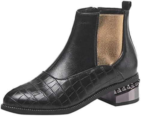 [해외]ZOMUSAR Women`s Boots Autumn and Winter Women Boots Splicing Elastic Boots Female Pointed Zipper Shoes / ZOMUSAR Women`s Boots, Autumn and Winter Women Boots Splicing Elastic Boots Female Pointed Zipper Shoes Black