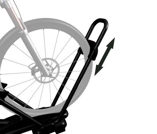 Yakima Highroller Upright Roof Bike Rack