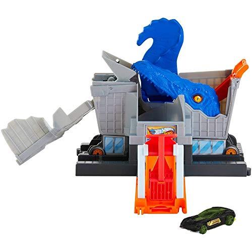 Ataque de T-Rex na Mercearia Mattel Hot Wheels - GBF92