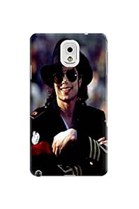Steven L.Cummings 3D cute cartoon tpu skin back cover case with texture for Samsung Galaxy note3 (Michael Jackson)