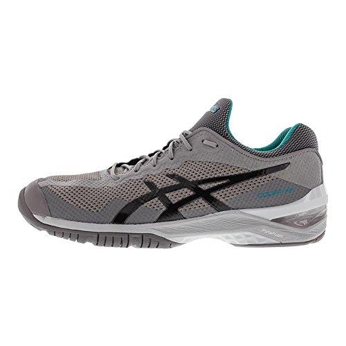 ASICS E700N Unisex Court FF Running Shoe Aluminum/Dark Grey/Lapis VE3jwGjZ