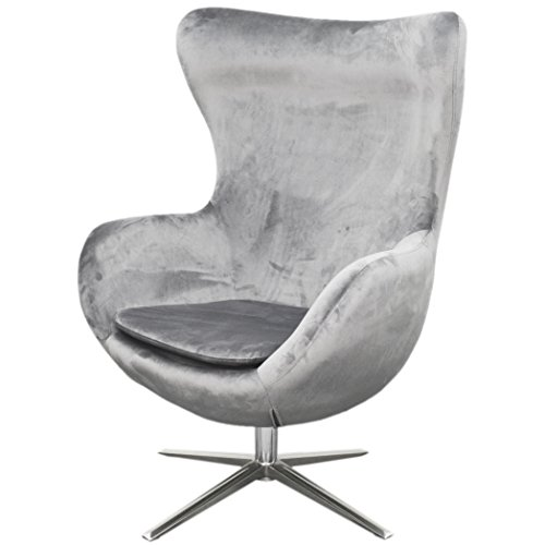 New Pacific Direct 453040-SY-CH Finn Fabric Swivel Chair Furniture, Shadow Gray Review