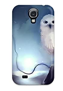 New Style Case Cover QpblfaC1408ceXYe Owl Compatible With Galaxy S4 Protection Case