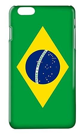 Protector Cristal Templado + Carcasa Bandera Brasil para Xiaomi Redmi Mi6 Mi 6 plástico rígido