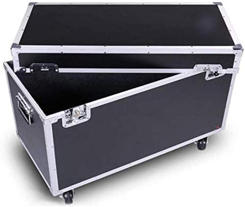 RZiioo Cajas de Herramientas de Aluminio del Caso de vuelos de Casos de tórax Cajas de almacenaje de contenedores con Cierre con Asas: Amazon.es: Hogar