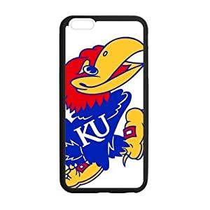 Beautifulcase Custom Kansas Jayhawks cell phone case cover Laser Technology for ZYDKzWjx4Uw iPhone 6 Plus Designed by HnW Accessories