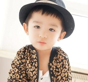 Amazon.com   Jewelry Kingdom Boys Toddler Fedora Hat - Classic color (Black)    Baby a1a20f0f348
