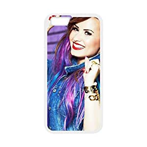Demi Lovato iPhone 6 4.7 Inch Cell Phone Case White Customize Toy zhm004-3837375