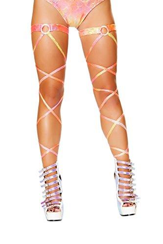 援助するランデブー迷彩【即納】ROMA Tie Dye Leg Wraps コスチュームアクセサリー コスチュームストッキング?レッグウォーマー [サイズ:ONE SIZE]