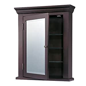 Espresso black medicine cabinet from destination lighting home kitchen for Espresso bathroom medicine cabinet