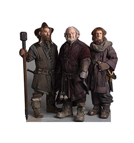 (Advanced Graphics The Dwarfs: Nori, Dori, Ori Life Size Cardboard Cutout Standup - The)