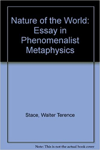 Informal Essay Definition Nature Of The World An Essay In Phenomenalist Metaphysics New Ed Edition Albert Camus The Stranger Essay also Essay On Golden Temple Amazoncom Nature Of The World An Essay In Phenomenalist  Female Foeticide Essay